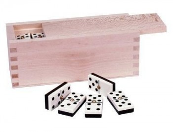 Domino profesional chamelo caja madera