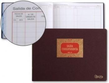 Libro miquelrius n. 43 folio apaisado 100 hojas -salida de correspondencia