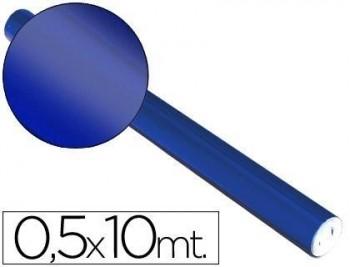 PAPEL METALIZADO  ROLLO CONTINUO DE 0,5 X 10 MT VARIOS COLORES