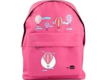 Cartera escolar liderpapel mochila globos color rosa 380x280x120mm