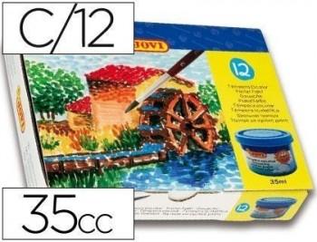 Tempera jovi 35 cc -12 colores surtidos