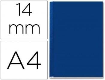 Tapa de encuadernacion channel rigida 35577 azul lomo c cpacidad 106/140 hojas