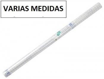 Rollo plastico adhesivo liderpapel  -forralibros removible