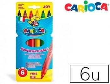 Rotulador carioca joy caja de colores varios