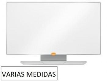 """""""Pizarra blanca nobo MAGNÉTICA acero vitrificado widescreen PANORÁMICA """" VARIAS MEDIDAS"""""""