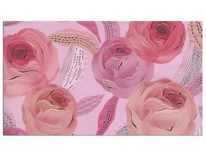 Papel regalo arguval turnowsky con relieve y holografia 50x70 cm papel 300 gr rose