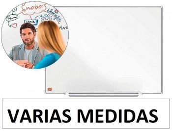 PIZARRA BLANCA NOBO IP PRO ACERO VITRIFICADO MAGNETICO VARIAS MEDIDAS