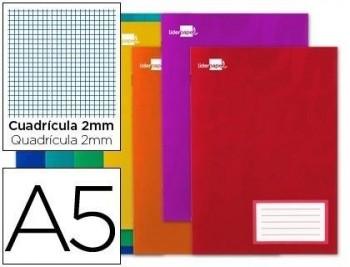 Libreta liderpapel write a5 32 hojas 60g/m2 milimetrado con margen