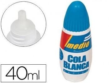 Pegamento imedio cola blanca 40 ml -unidad