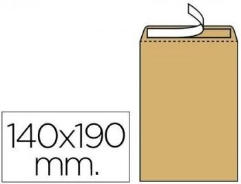 Sobre liderpapel bolsa n.4 kraft salarios 132x187 mm tira de silicona caja de 500 unidades