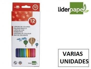 Lapices de colores liderpapel c/ de VARIOS colores