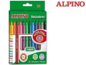 Rotulador alpino -caja de colores surtidos