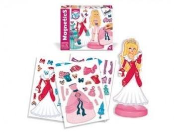 Juego diset magnetico vestidos de princesas