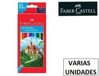 Lapices de colores faber-castell Varioscolores hexagonal madera reforestada