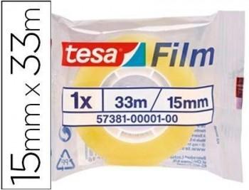 Cinta adhesiva tesa standard 33 mt x 15 mm