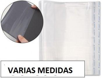 Forralibro pp ajustable adhesivo VARIAS MEDIDAS