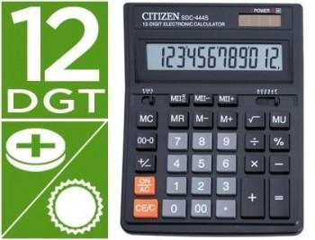 Calculadora citizen sobremesa sdc-444 s 12 digitos