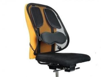 Respaldo ergonomico fellowes mesh professional apoyo lumbar completo ajustable verticalmente