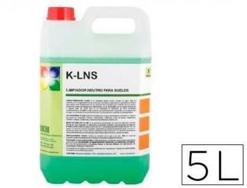 Limpiasuelos neutro con aroma a manzana garrafa 5 litros