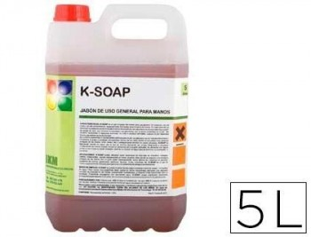 Limpiador jabon para manos garrafa 5 litros