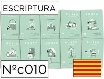 Cuaderno rubio escriptura nºc catalan