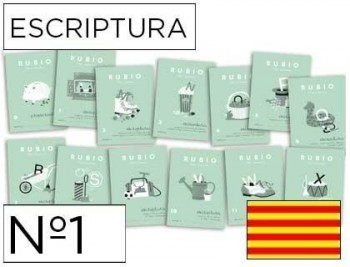 Cuaderno rubio escriptura  catalan