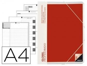 Carpeta global additio a4 con evalucion continua programacion tutoria y reuniones
