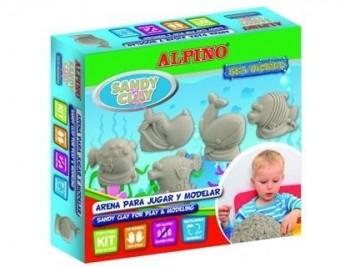 Pasta alpino para modelar sandy clay arena sea world