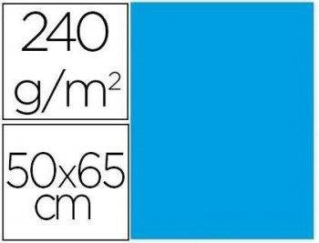 Cartulina liderpapel 50x65 cm 240g/m2  paquete de 25 unidades