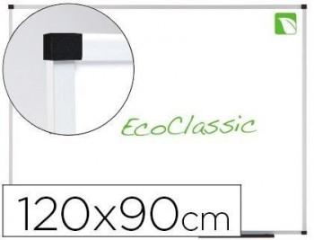 Pizarra blanca nobo eco presti prestige MAGNÉCTICA acero vitrificado 1200x900 mm blanco