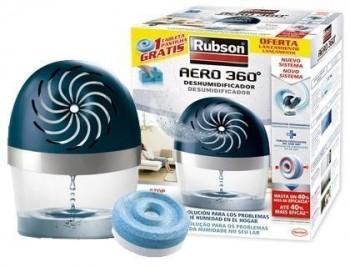 Deshumificador rubson aero 360 + refill gratis 189x118x241 mm