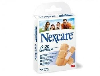 Tira protectora 3m nexcare para heridas y cortes plasticoimpermeable caja de 20 unidades diversos ta