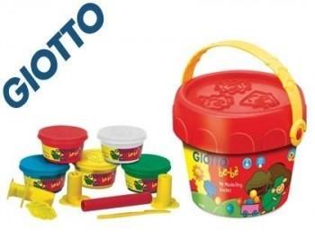 Pasta giotto bebe para modelar cubo maxi con accesorios dermatologicamente testado
