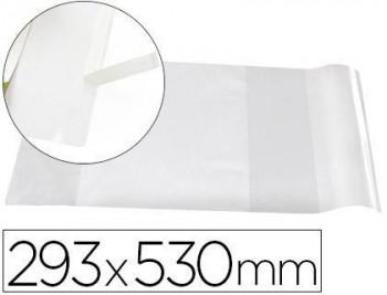 Forralibro liderpapel con solapa ajustable adhesivo