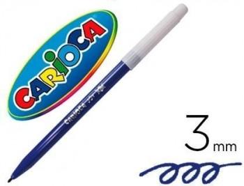 Rotulador carioca joy bingo azul oscuro unidad
