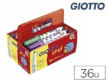 Rotulador giotto bebe super schoolpack de 36 unidades