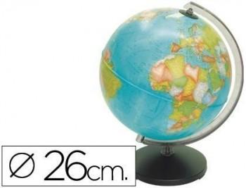 Esfera sin luz corallo de 26 cm diametro